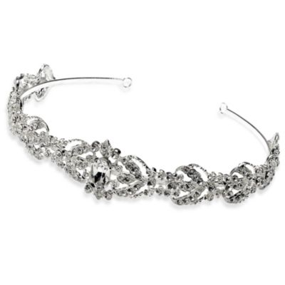 Dominique Rhinestone Wedding Headband