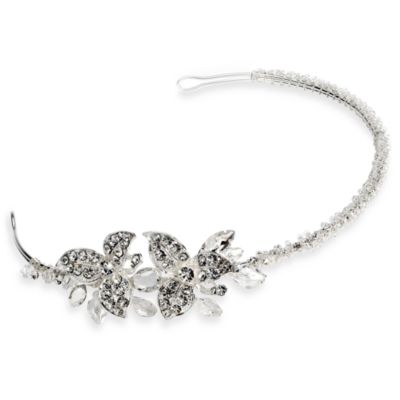 Rhinestone Justina Side Headband