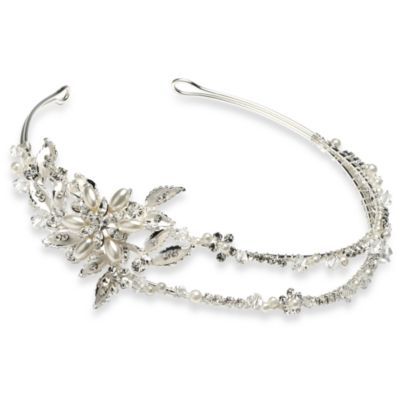 Brenna Pearl Wedding Headband