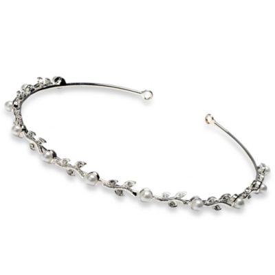 Pearl Vine Wedding Headband