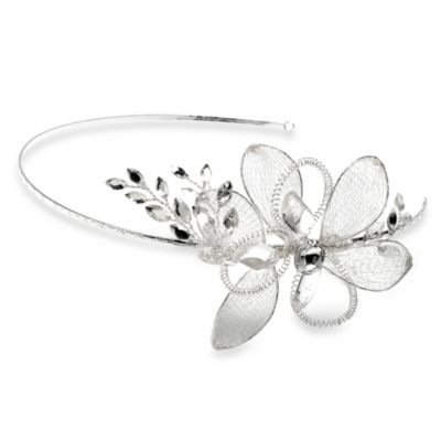 Patina Flower Wedding Headband