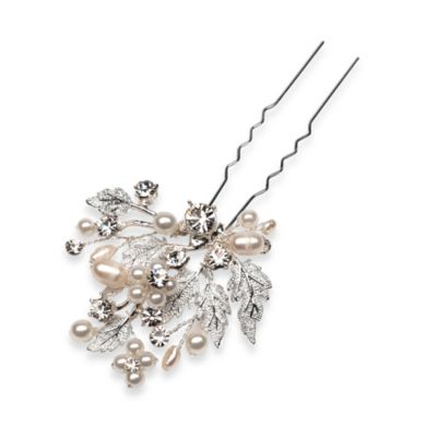Floral And Leaf Hair Pin