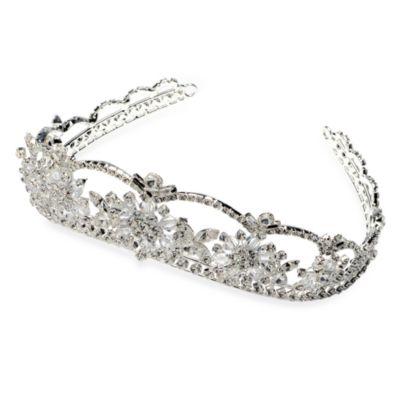Silver Swarovski Crystal Tiara