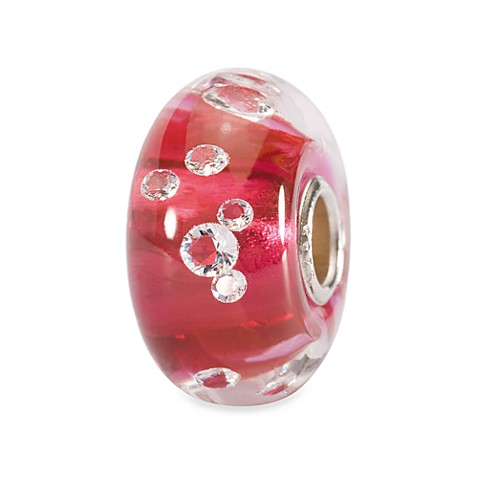 Trollbeads Italian Glass Bead with Large Core – Pink