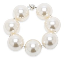 Hot Girl Pearls White Cooling Bracelet in 8.25-Inch