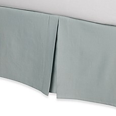 Real Simple® Linear Aqua Bed Skirt