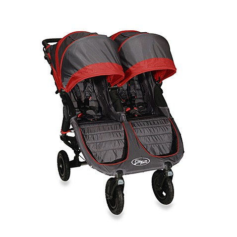 Baby Jogger City Mini Gt Double Stroller In Shadow