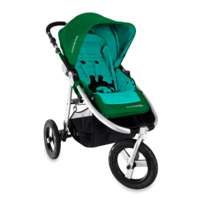 Indie Stroller in Green Papyrus