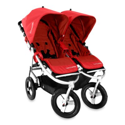 Bumbleride® Indie Twin Stroller in Cayenne Red