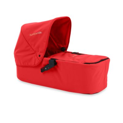 Bumbleride® Indie Twin Carrycot in Cayenne Red