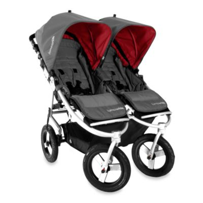Bumbleride™ Indie Twin Stroller in Fog Grey