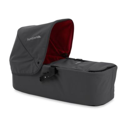 Bumbleride® Indie Twin Carrycot in Fog Grey