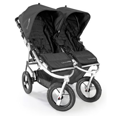 Bumbleride® Indie Twin Stroller in Jet Black