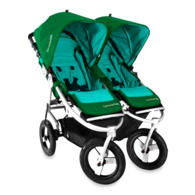 Bumbleride™ Indie Twin Stroller in Green Papyrus