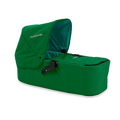 Bumbleride™ Indie Twin Carrycot in Green Papyrus