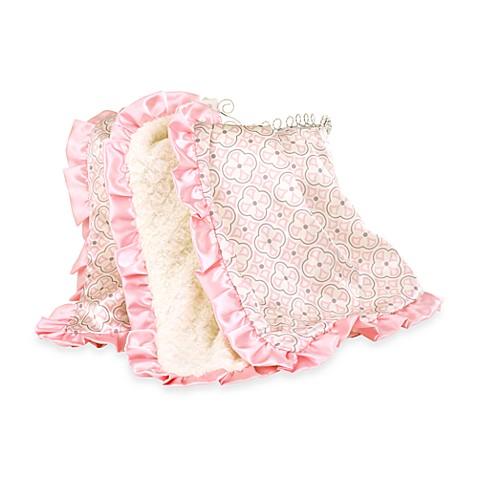 Petit Tresor Textured Blanket in Pink