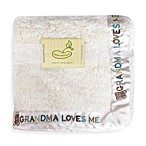 Pem America Grandma Loves Me Crib Throw Blanket