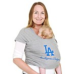 Moby® MLB™ Edition Los Angeles Dodgers Wrap Baby Carrier in Grey