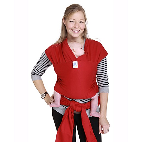 Moby® Wrap Originals Baby Carrier in Red