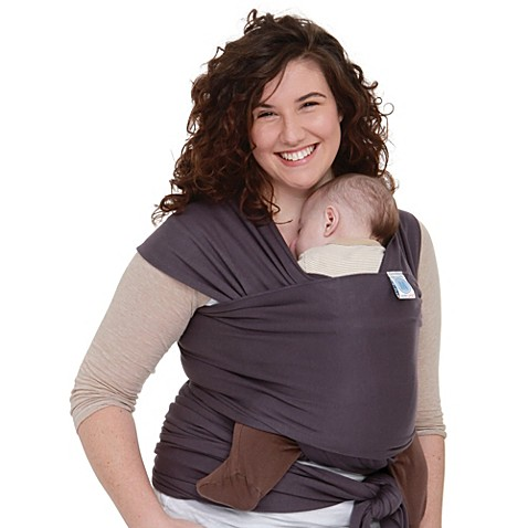 Moby® Wrap Organics Baby Carrier in Eggplant Purple