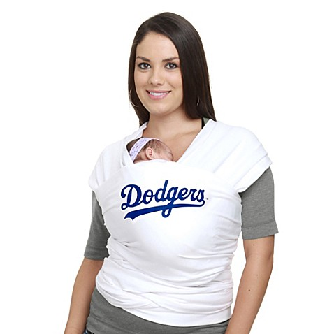 Moby® MLB™ Edition Los Angeles Dodgers Wrap Baby Carrier in White