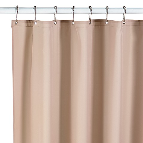 Hotel Fabric 70 Inch X 72 Inch Shower Curtain Liner In Linen Bed Bath Beyond