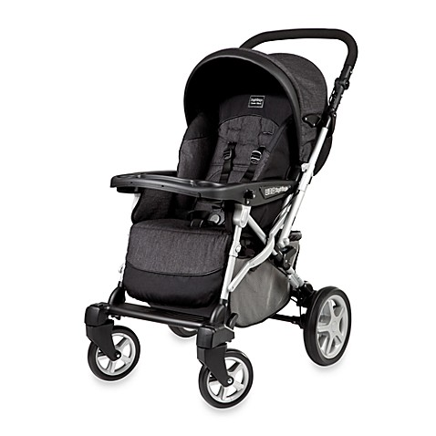Peg Perego Uno Stroller in Denim Black