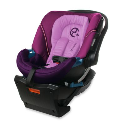 Cybex Aton Infant Car Seat in Violet Spring