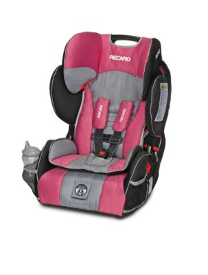 Booster Car Seats > Recaro® Performance Sport Harness to Booster Car Seat in Rose