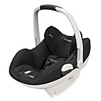 Maxi Cosi® Prezi® Infant Car Seat in Devoted Black with White Handle