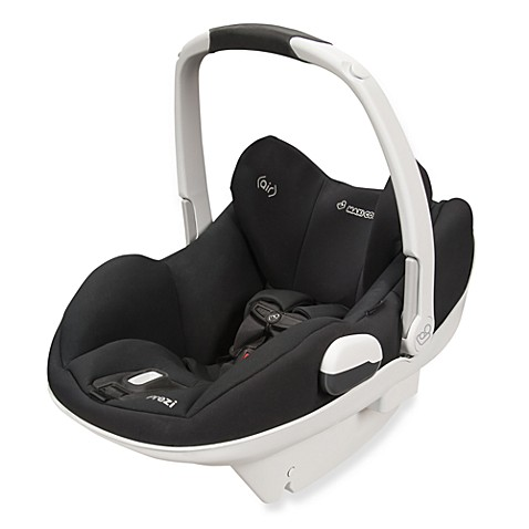 Maxi-Cosi® Prezi® Infant Car Seat in Devoted Black with White Handle