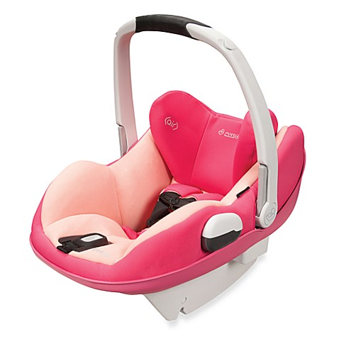 Maxi-Cosi® Prezi® Infant Car Seat in Passionate Pink with White Handle