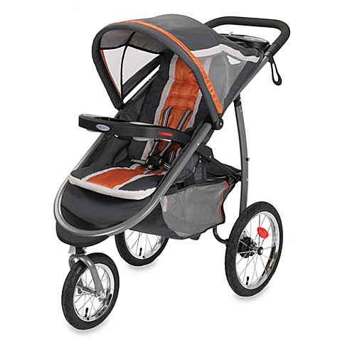 Graco® FastAction™ Fold Jogger Click Connect™ Stroller in Tangerine