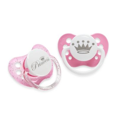 ulubulu™ Expression Pacifier Princess (2-Pack)
