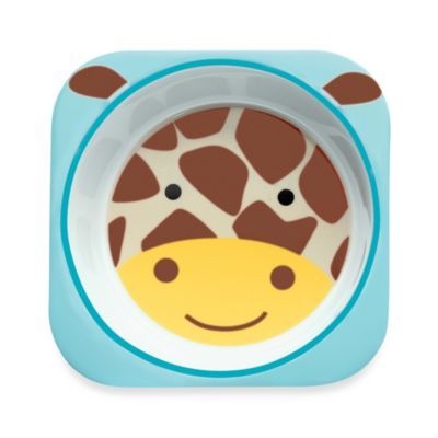 SKIP*HOP® Zoo Melamine Bowl in Giraffe