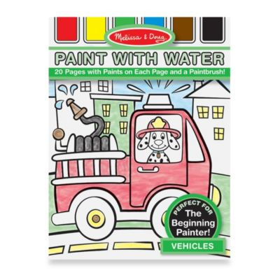 Melissa & Doug® My First Paint with Water in Vehicles