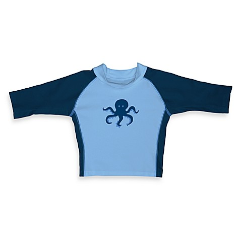 i play.® Mod 3-Quarter Sleeve Octopus Rashguard