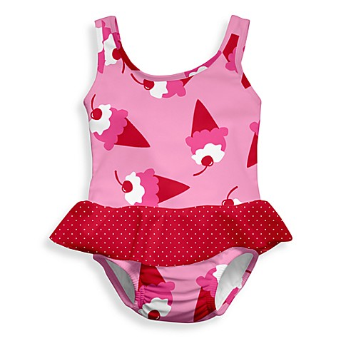 i play.® Mod Size 3 Months Ultimate Swim Diaper Ice Cream Skirty Tanksuit