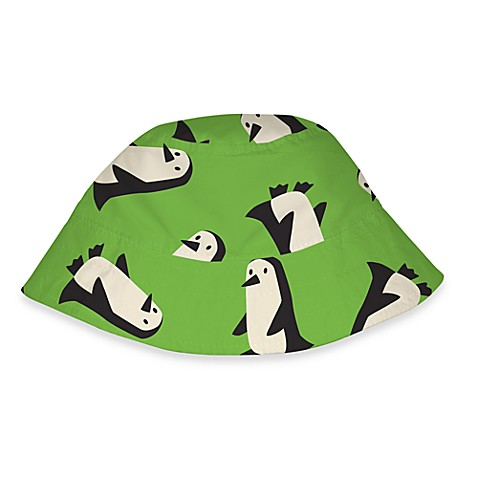 i play.® Green Penguins Sun Hat - Infant