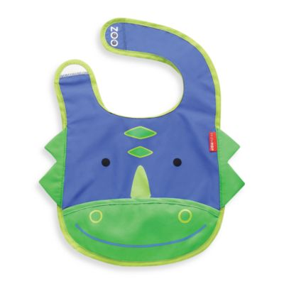 SKIP*HOP® Zoo Tuck-Away Bibs in Dino
