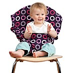 Totseat Portable High Chair in Pink Circles