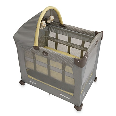 graco travel lite crib with stages bassinet in peyton bed bath