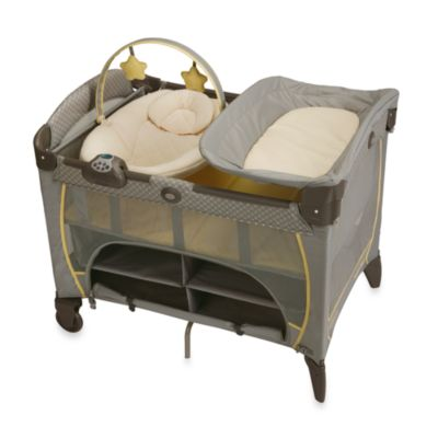 Pack N Plays > Graco® Pack 'n Play® Playard Newborn Napper® Station DLX in Peyton