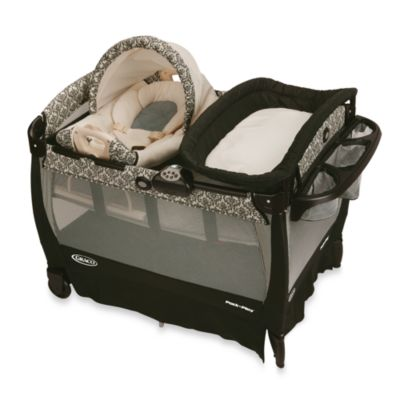 Pack N Plays > Graco® Pack 'n Play® Playard with Cuddle Cove™ Rocking Seat in Rittenhouse