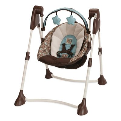 Graco® Swing By Me™ Portable 2-in-1 Swing in Little Hoot