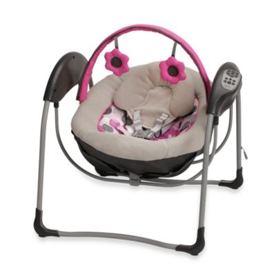 Travel Swings > Graco® Glider Petite LX Gliding Swing in Lexi
