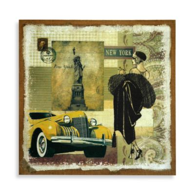 Yellow Auto Wall Art