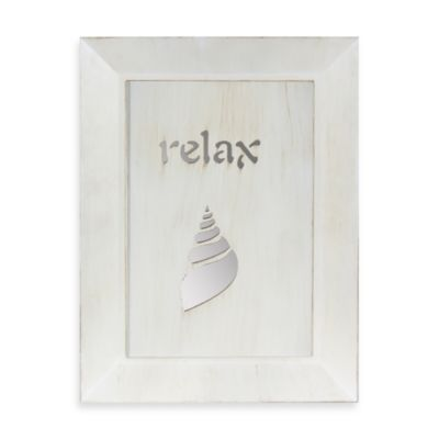 Relax Conch Shell Mirror