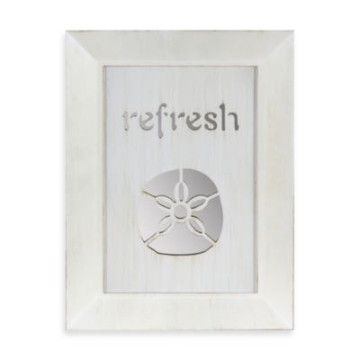 Refresh Sand Dollar Mirror