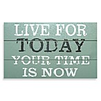 Live For Today Mini Plaque